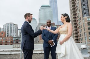 Ceremony Vows with a Pinky Swear