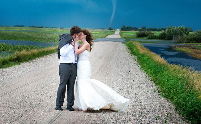 Tornado couple photo