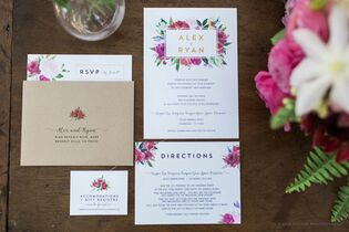 Invitations paper in houston tx the knot paper tie affair junglespirit Image collections