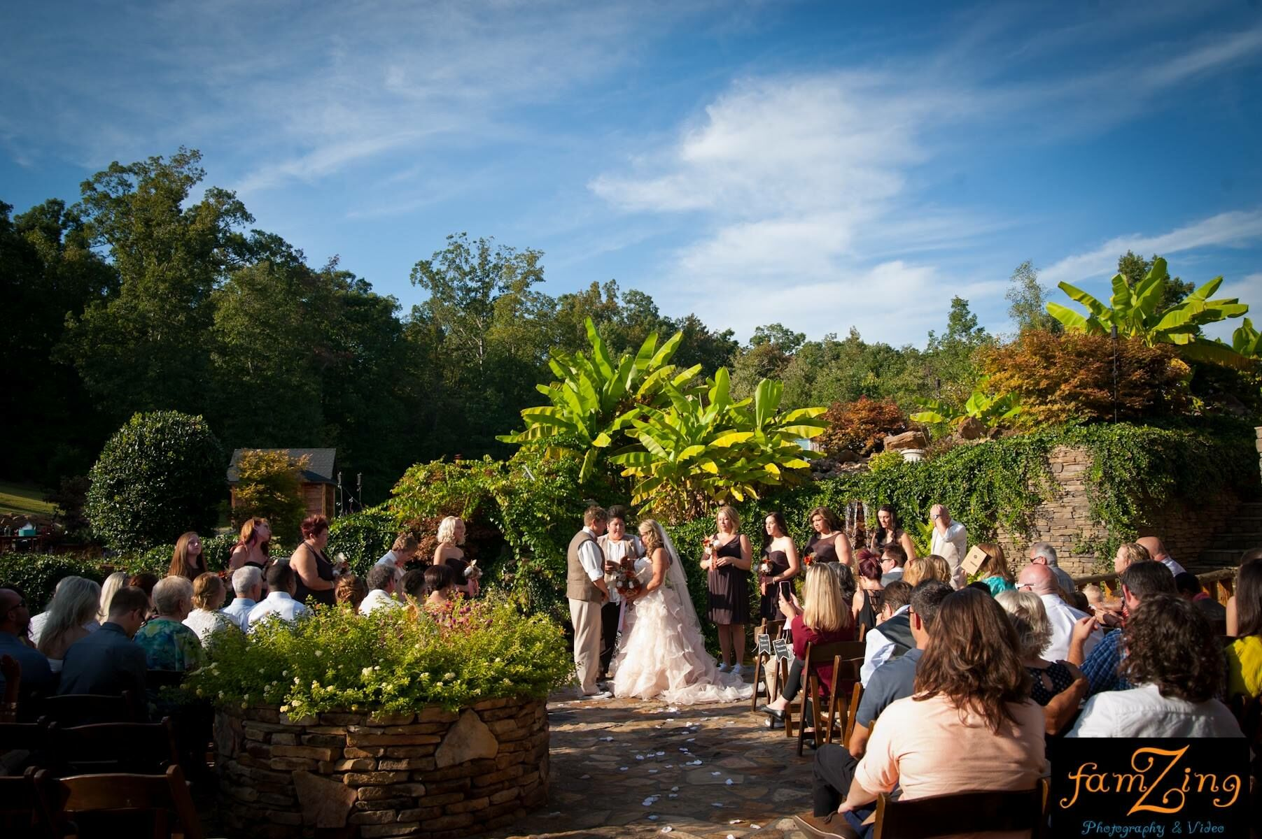 Wedding reception venues in greenville sc the knot the hollow at paris mountain junglespirit Gallery