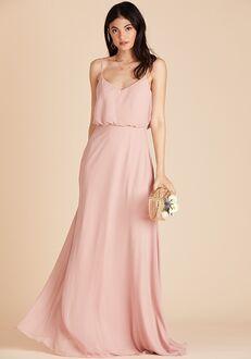 Birdy Grey Gwennie Dress in Rose Quartz V-Neck Bridesmaid Dress
