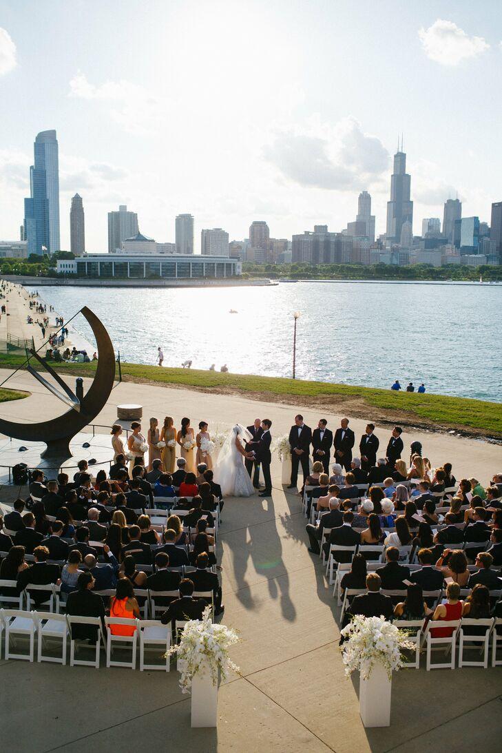 Chicago Waterfront Wedding Ceremony