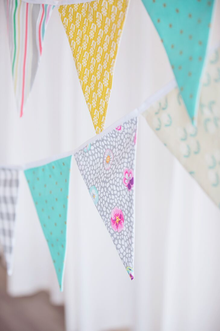 Colorful Fabric Bunting