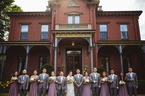 Bridal Party at Commander's Mansion