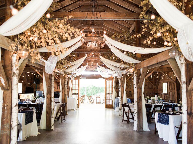 Longlook Farm New Hampshire wedding venue