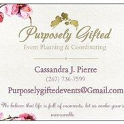 Philadelphia, PA Event Planner | Purposely Gifted Event Planning & Coordinating