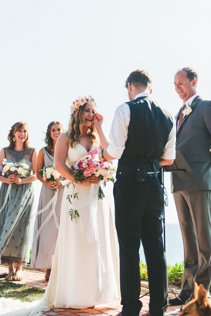 Oceanside Backyard Wedding Ceremony Vows