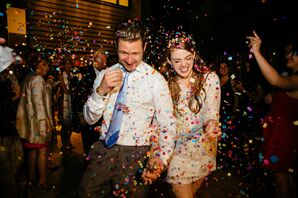 Colorful Confetti Send-Off