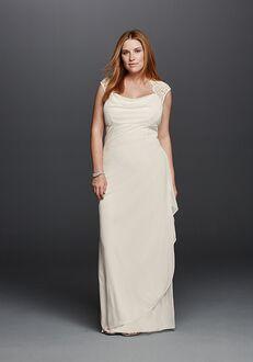 David's Bridal DB Studio Style XS3450W Sheath Wedding Dress