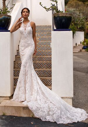Moonlight Couture H1400 Mermaid Wedding Dress
