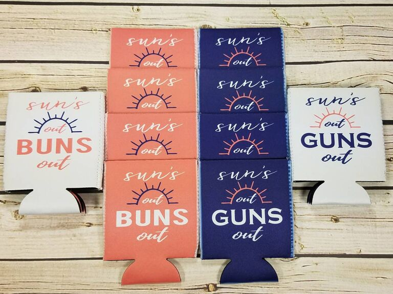 Joint bach party koozies
