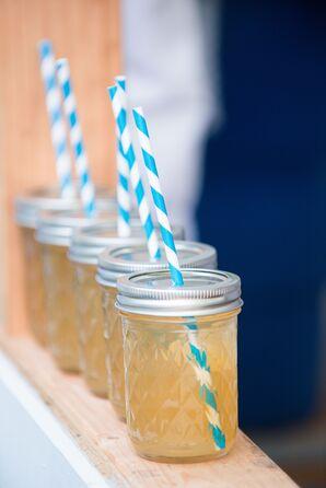 Signature Cocktails Served in Vintage Jelly Jars
