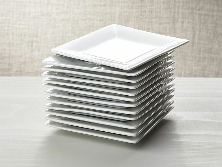 Appetizer plates from Crate & Barrel