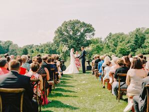 Outdoor Summer Wedding Ceremony at Salamander Resort & Spa