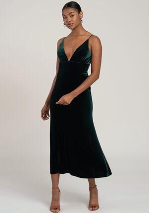 Jenny Yoo Collection (Maids) Mari V-Neck Bridesmaid Dress