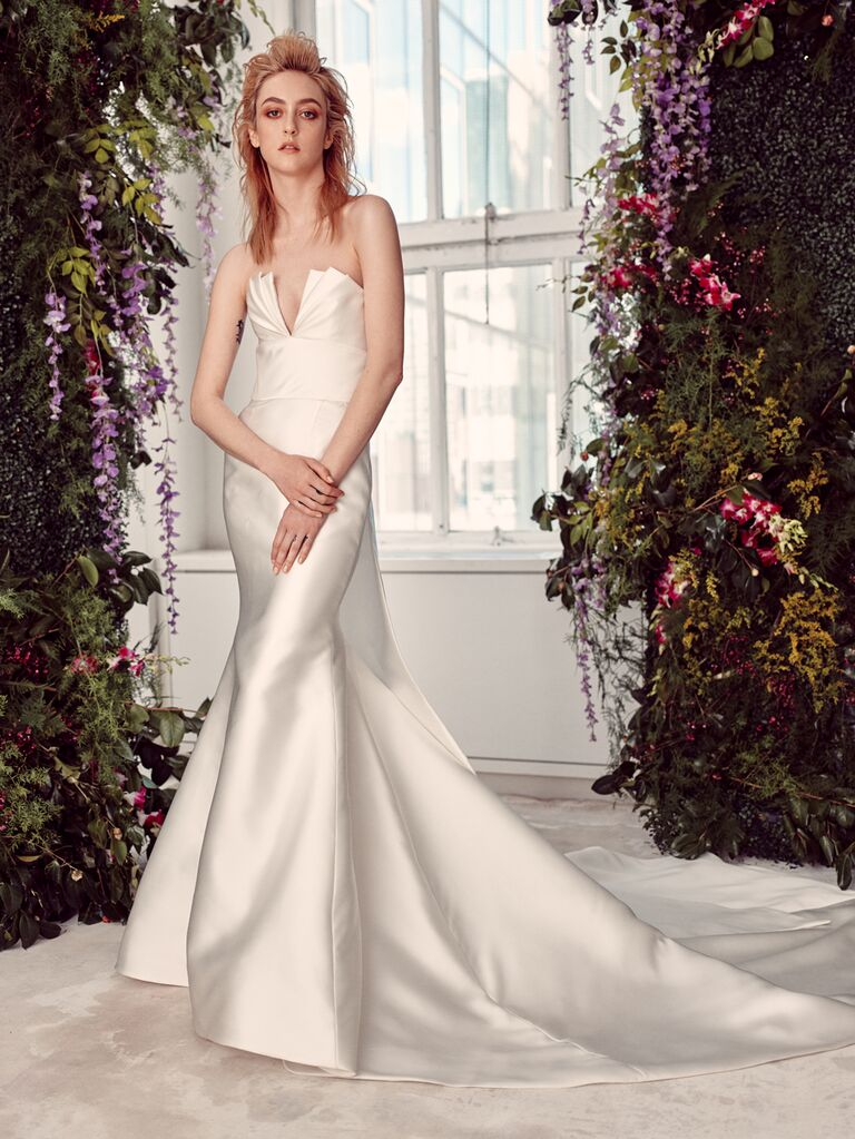 Rivini by Rita Vinieris Spring 2020 Bridal Collection strapless wedding dress
