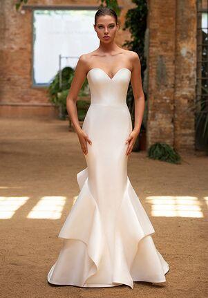 ZAC POSEN FOR WHITE ONE KATIE Mermaid Wedding Dress