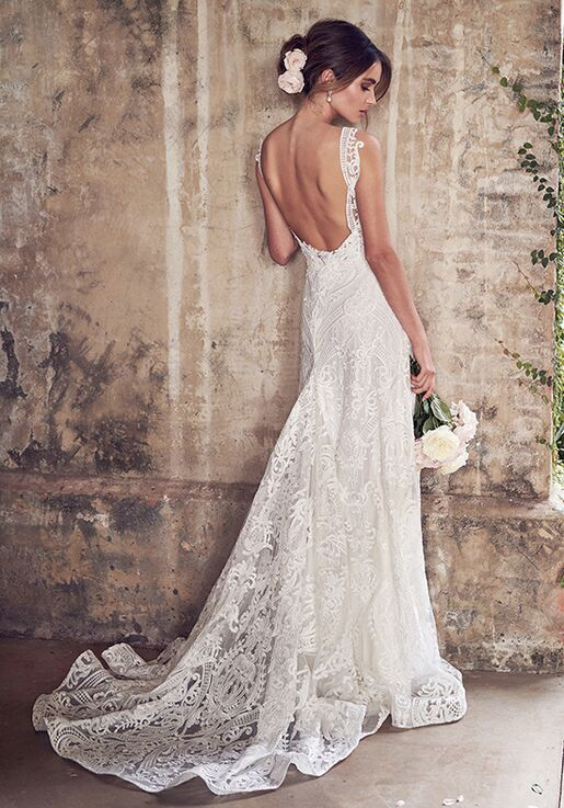 a999f24f77c9 Anna Campbell Jamie (Empress Lace) Dress Wedding Dress | The Knot