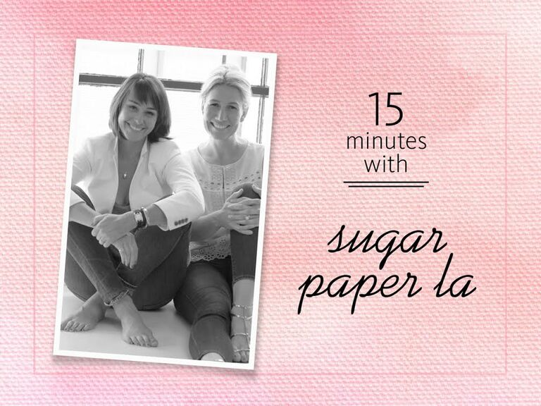 The founders of Sugar Paper