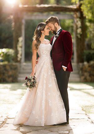Essense of Australia D2843 A-Line Wedding Dress