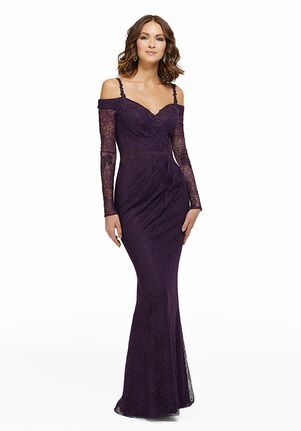 MGNY 72011 Purple Mother Of The Bride Dress