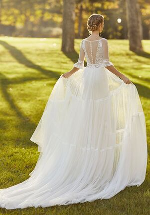 Aire Barcelona KEYNA Sheath Wedding Dress