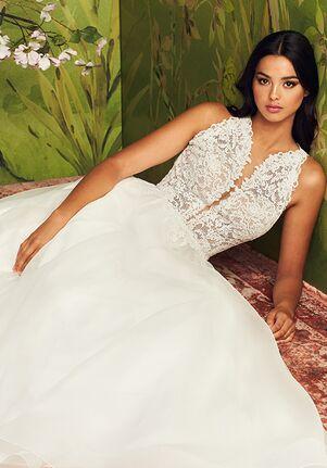 Paloma Blanca 4885 Ball Gown Wedding Dress