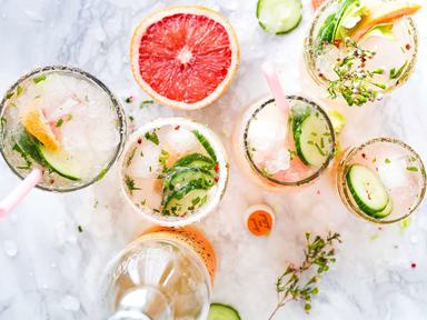 grapefruit cocktails bridal shower ideas