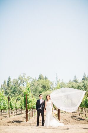 Romantic DIY Garden Wedding in Napa Valley