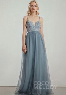 CocoMelody Bridesmaid Dresses RB0307 V-Neck Bridesmaid Dress