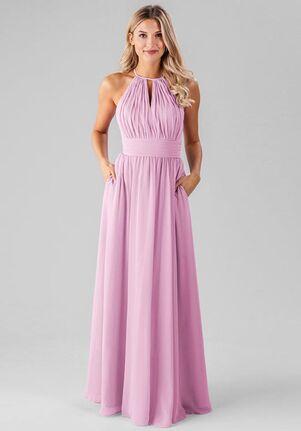 Kennedy Blue Bailey Halter Bridesmaid Dress