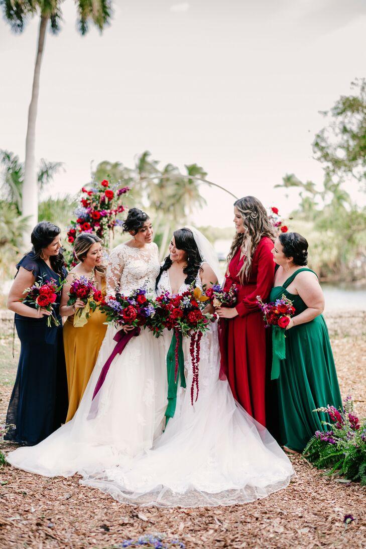 Wedding Party Portraits in Miami, Florida