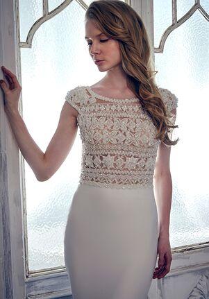 Calla Blanche 17126 Rose Sheath Wedding Dress
