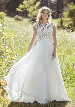 Lillian West 6493 A-Line Wedding Dress