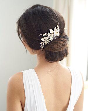 Dareth Colburn Liliana Bridal Hair Clip (TC-2401) Gold Pins, Combs + Clip
