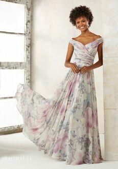 Morilee by Madeline Gardner Bridesmaids 21523 Off the Shoulder Bridesmaid Dress
