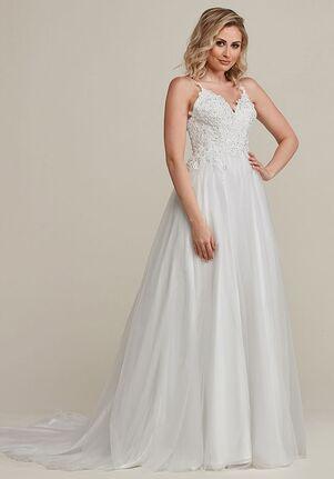 Avery Austin Brooke A-Line Wedding Dress
