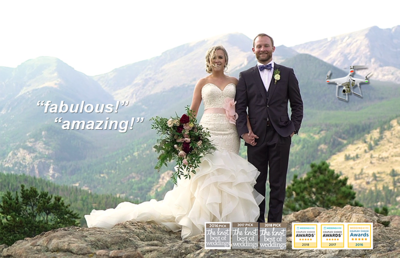 OurWeddingVideoGuy.com Colorado 4K + Cool Drone Vids!