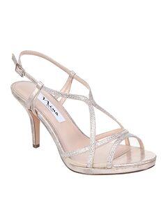 Nina Bridal Blossom_Gold Gold Shoe