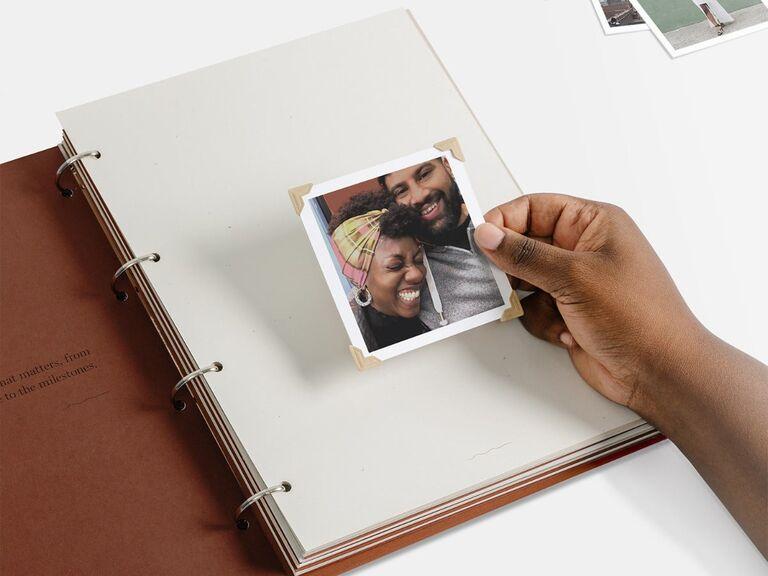 Scrapbook photo gift idea