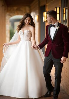 Essense of Australia D2486 Ball Gown Wedding Dress
