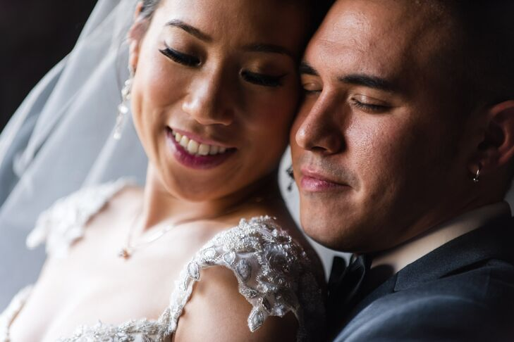 Chantley Sutanandi (32 and a registered nurse) and Joel Ouano (32 and a post production engineer) met on Match.com in December 2010. After a wonderful