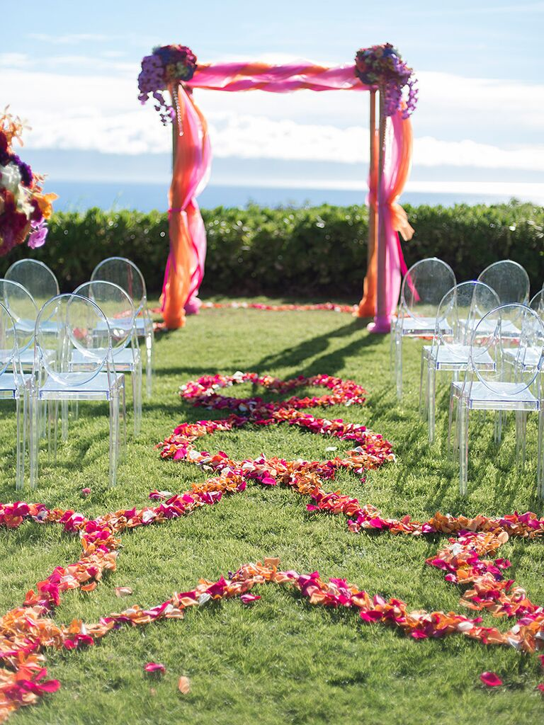 19 Ideas For An Outdoor Wedding Arbor