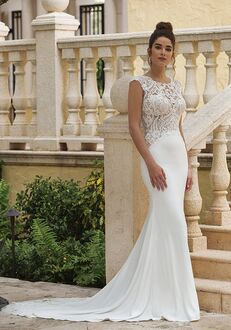 Sincerity Bridal 44070 Sheath Wedding Dress