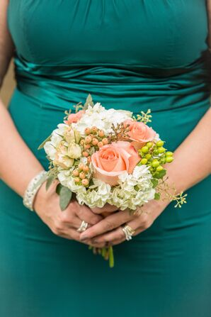 A Jade and Blush Fall Wedding Color Palette