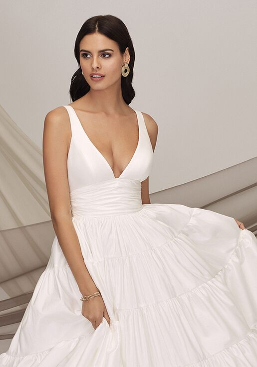 Justin Alexander Signature Roma Ball Gown Wedding Dress