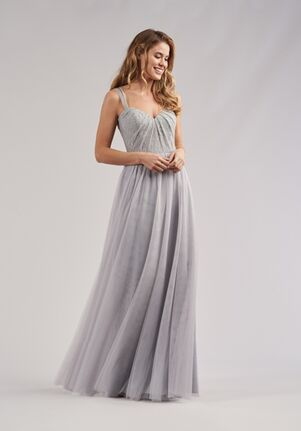 Belsoie Bridesmaids by Jasmine L214065 Sweetheart Bridesmaid Dress