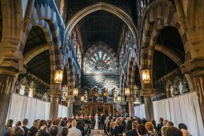 DIY Wedding at Church of the Holy Innocents in Hoboken, New Jersey