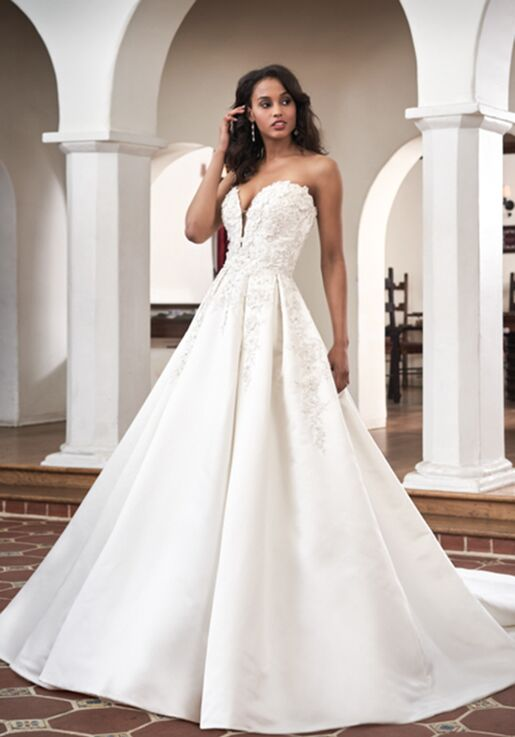 Jasmine Couture T212065 Wedding Dress The Knot,Wedding Dresses For Big Busts