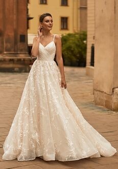 Moonlight Collection J6816 A-Line Wedding Dress